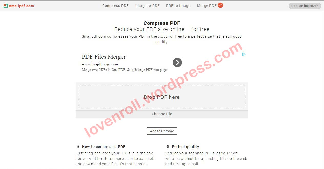 how to change size of pdf file online